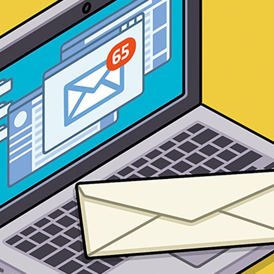 The thought experiment: What is the carbon footprint of an email? © Raja Lockey