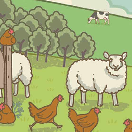 The thought experiment: What would happen if everyone on the planet suddenly went vegan? © Raja Lockey