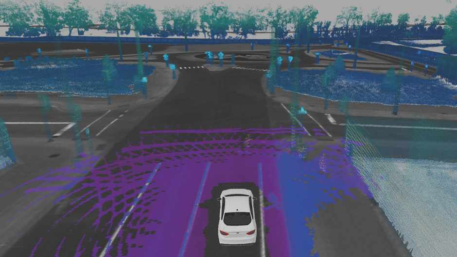 2 Ford test vehicles merge todays driver-assist technologies with LiDAR sensors to generate a real-time 3D map