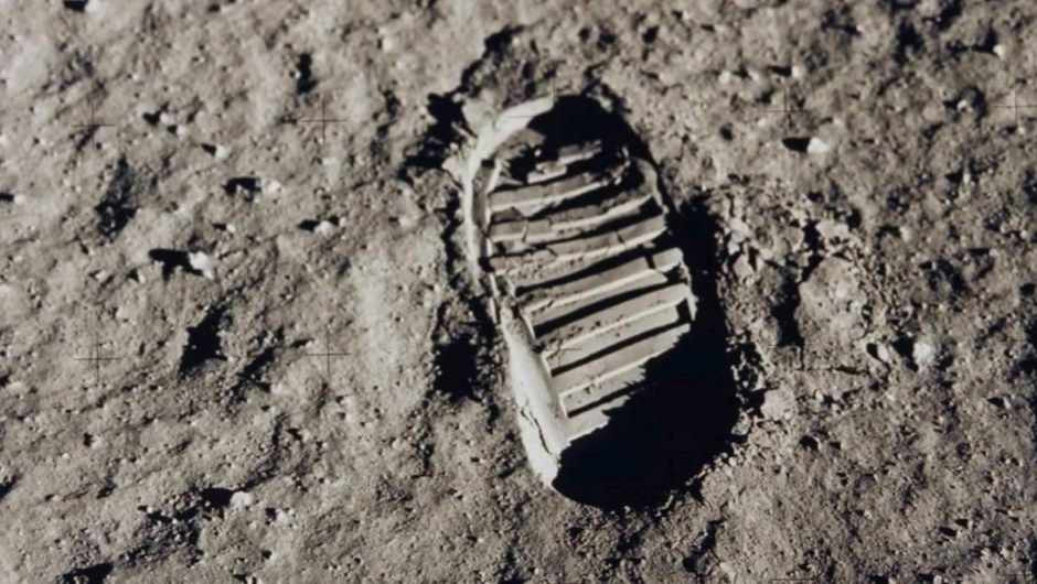 Are there really still human footprints on the Moon?