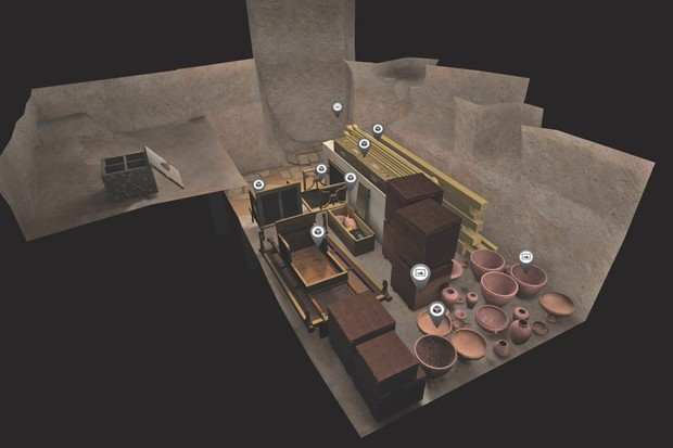 Thanks to VR, Harvard's archaeology students can roam around ancient Egypt © Dassault Systèmes