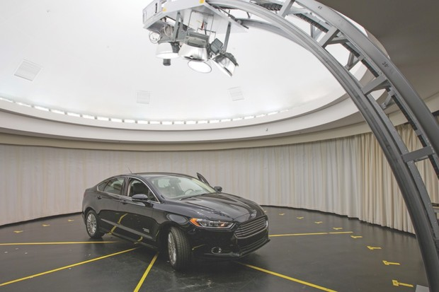 Work at their Immersion Lab led Ford to redesign and manufacture new wing mirrors for the Fusion © Ford Motor company