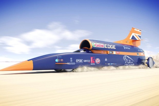 Eight fun facts about the Bloodhound SSC