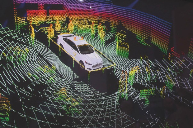 Autonomous vehicles use a wide variety of sensors to 'understand' their surroundings © Alamy