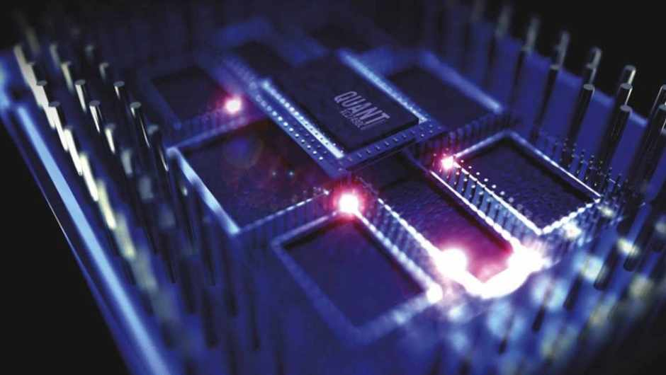 What kind of logic gates are used by quantum computers?
