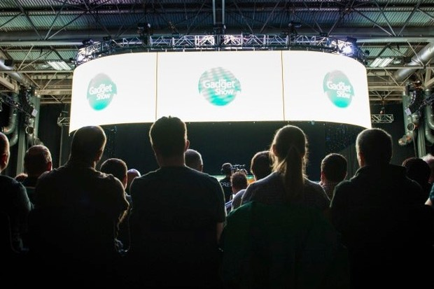 The Gadget Show Super Theatre will be filmed for the first time this year.