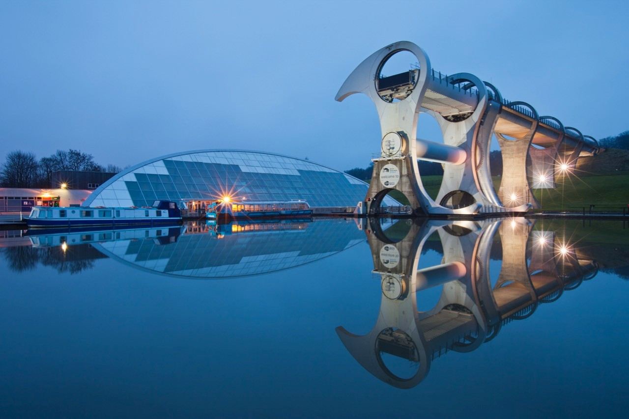 Falkirk Wheel © Guy Edwardes/Getty Images