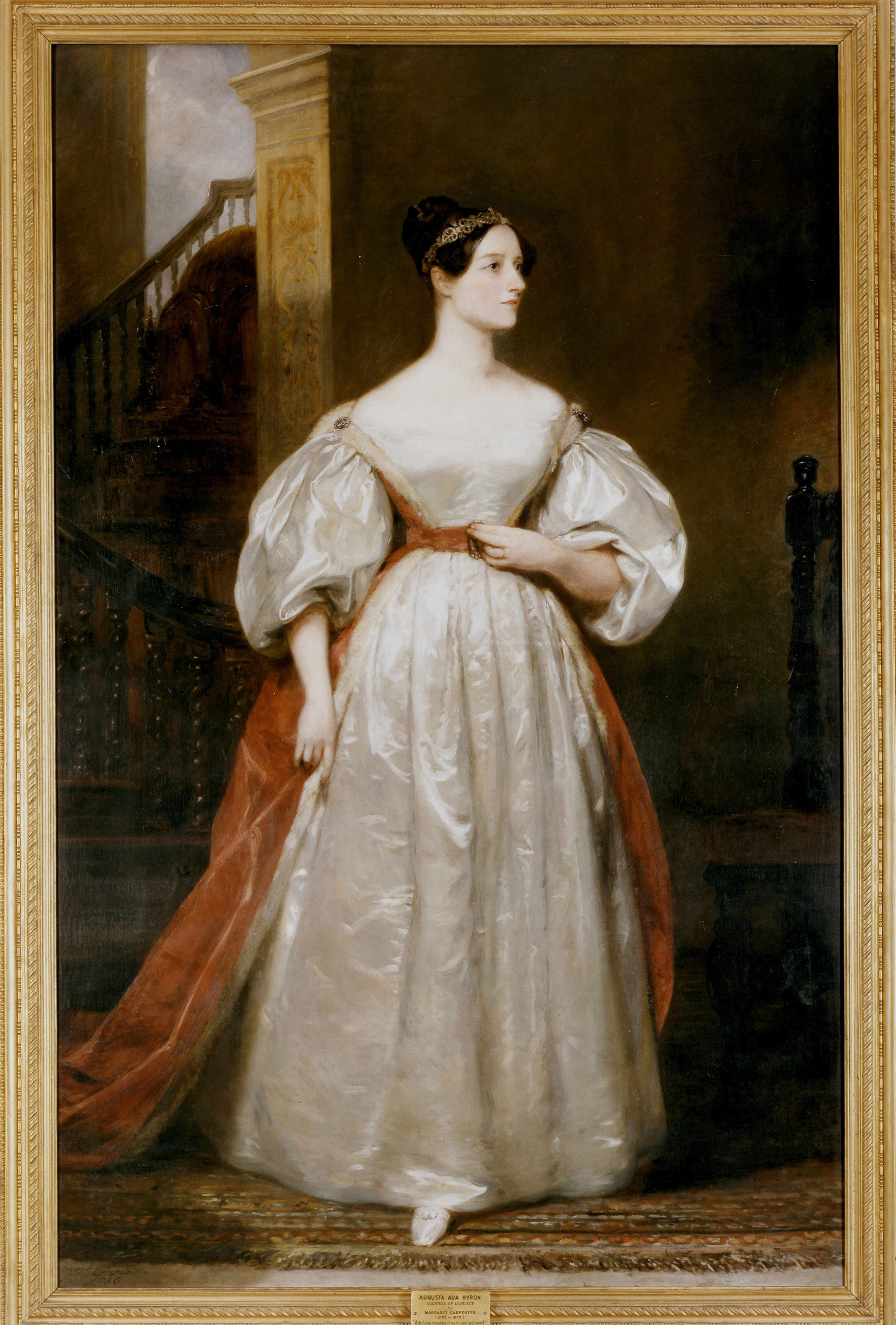 Augusta Ada, Countess Lovelace by Margaret Carpenter © Universal History Archive/Getty Images