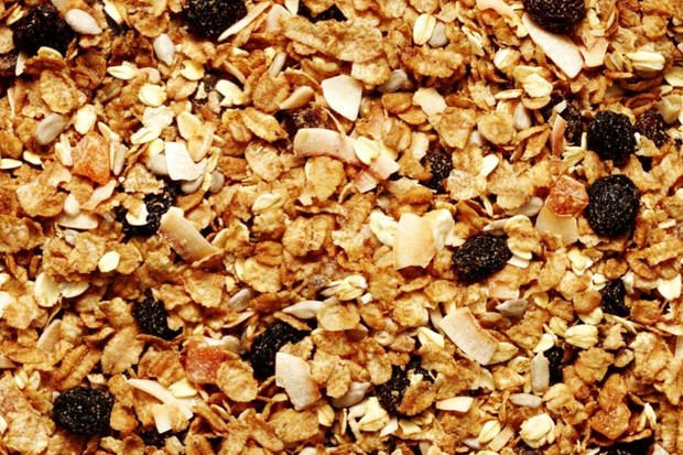 Why are the nuts in a box of muesli often at the top? © Getty Images