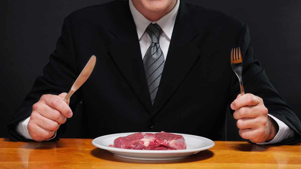 Why do we get 'the meat sweats'? © Getty Images