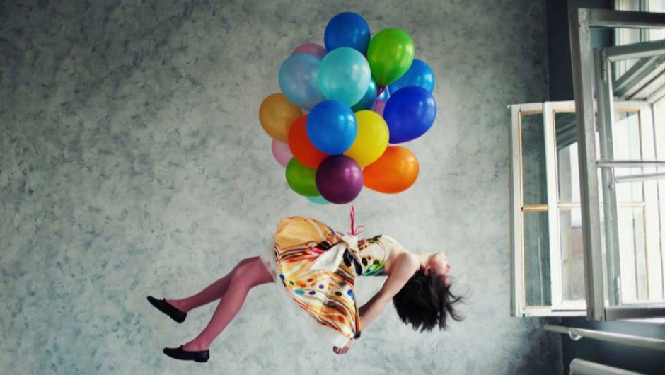How many helium balloons would it take to make me float? © Getty Images
