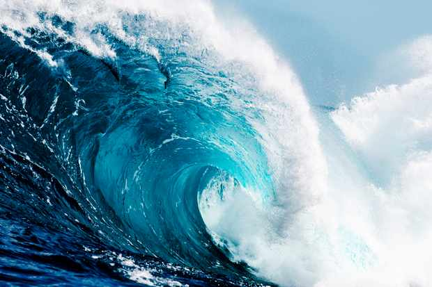 Would it be possible to surf a tidal wave? © Getty Images