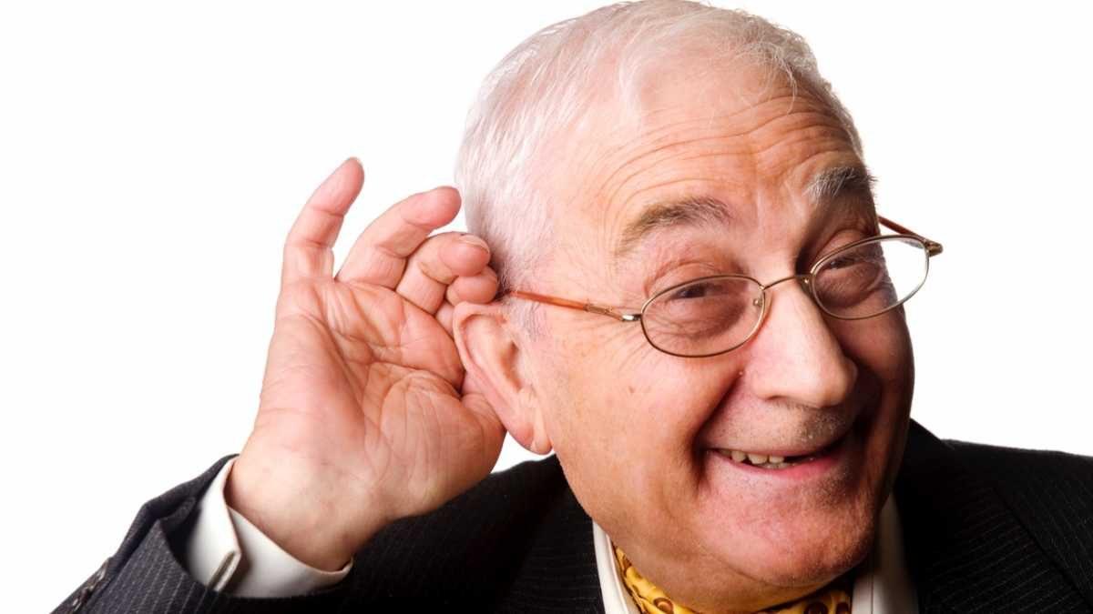 What do old men do