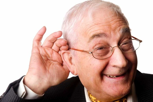 Why do old men have big ears? © Getty Images