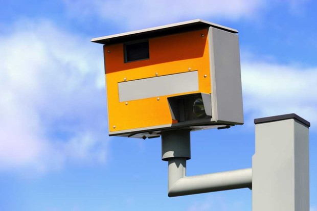 At what speed would you need to go to stop a speed camera photographing your plates? © Getty Images