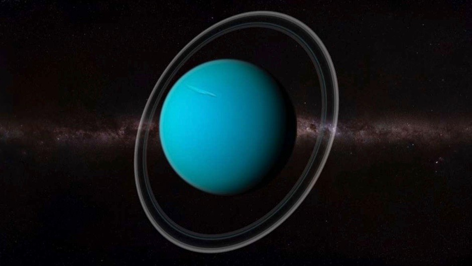 Why does Uranus orbit the Sun on its side? © Getty Images