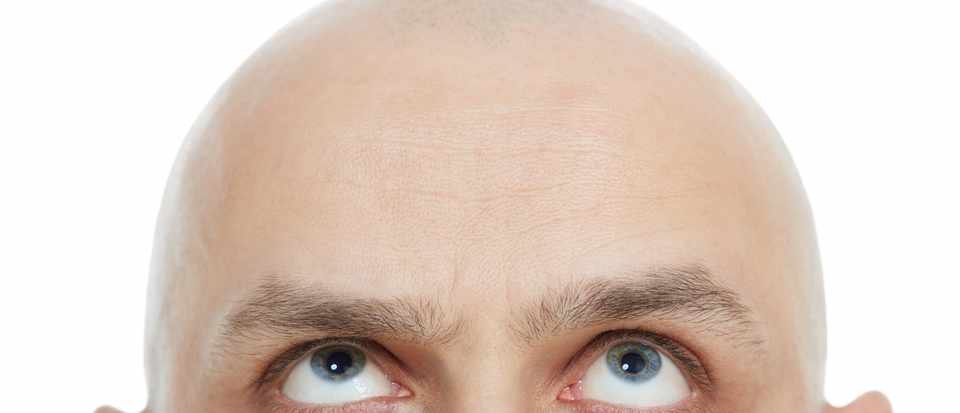 Why do old men go bald, but get hairy nostrils? © Getty Images