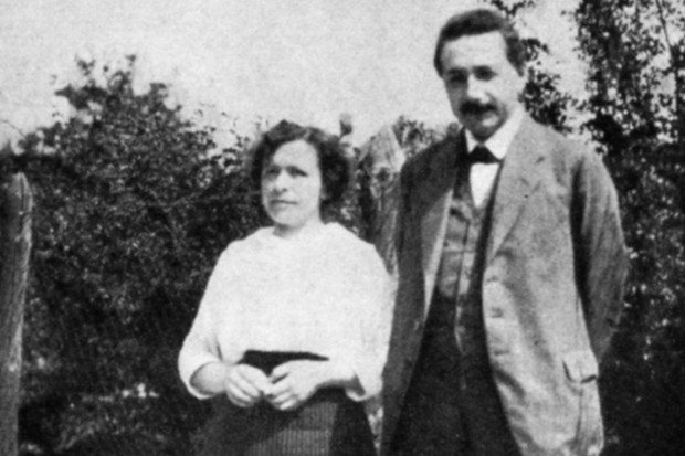 Albert Einstein, German-Swiss theoretical physicist, with his first wife Mileva, c1905 © Ann Ronan Pictures/Print Collector/Getty Images