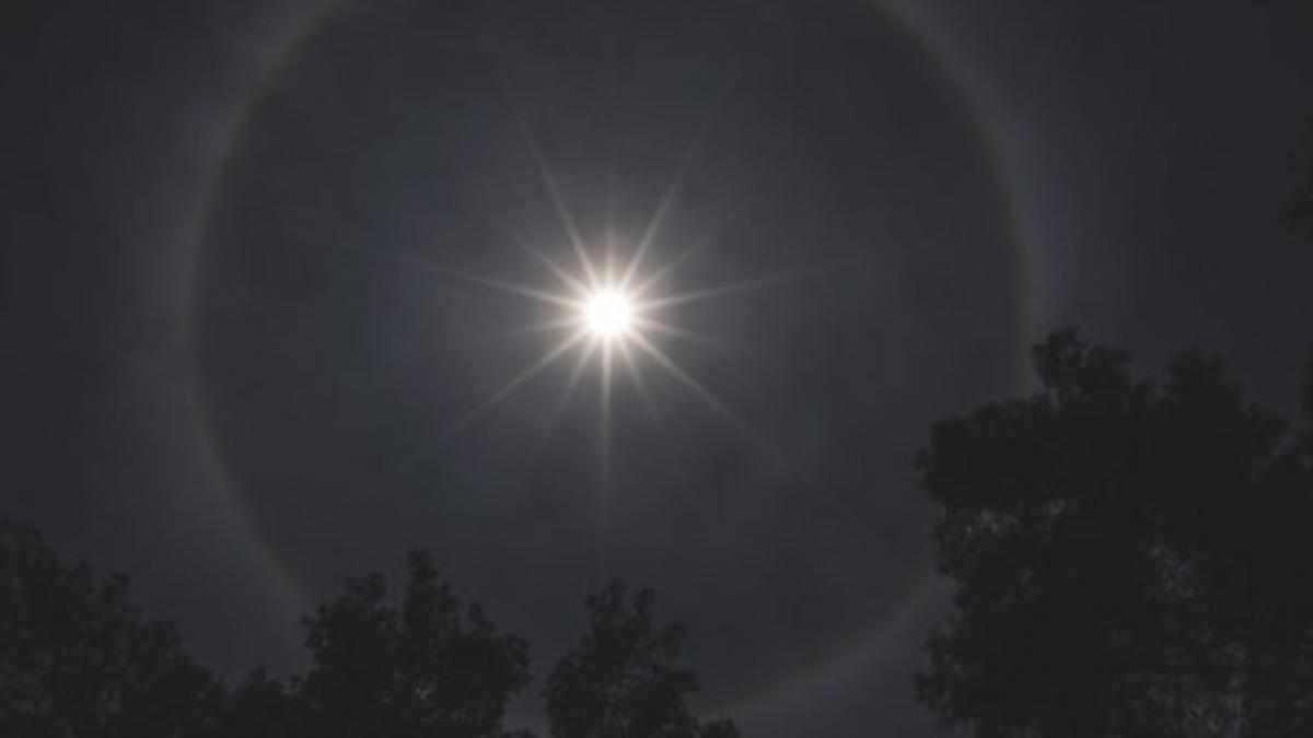 What causes a halo around the sun? © Getty Images