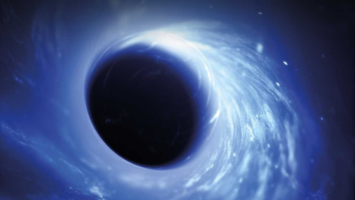 How big could a black hole get? © Getty Images