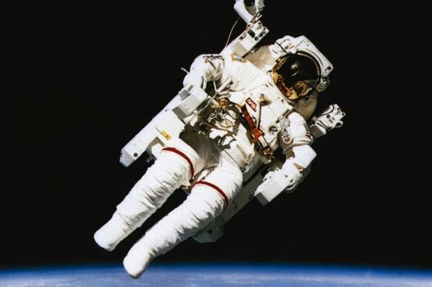 Why would a spacewalking astronaut float off if not tethered to the craft? Image © Eye Ubiquitous/UIG via Getty Images