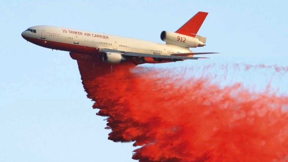 How effective are planes in fighting wildfires? © Getty Images