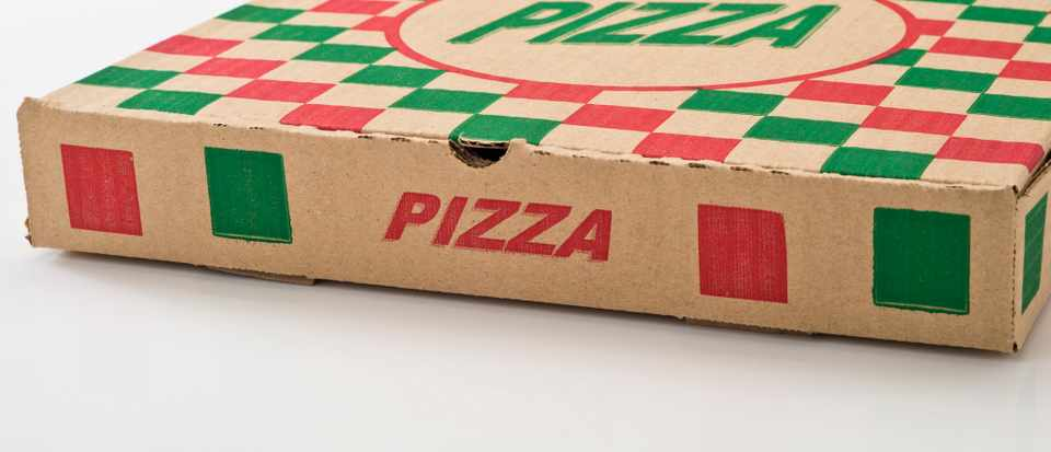 Why can't I recycle takeaway pizza cartons? © Getty Images
