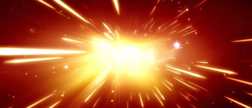 If we made a powerful enough telescope, would we theoretically be able to see the light from the Big Bang?