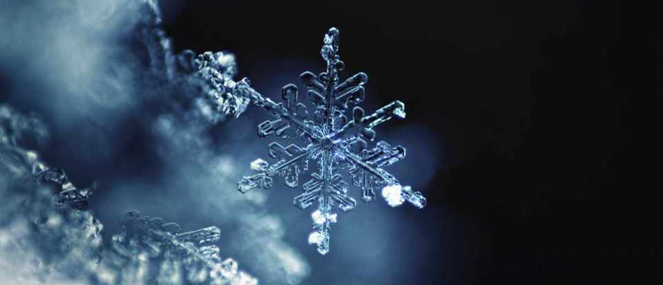 Is it true that no two snowflakes are exactly the same? © Getty Images