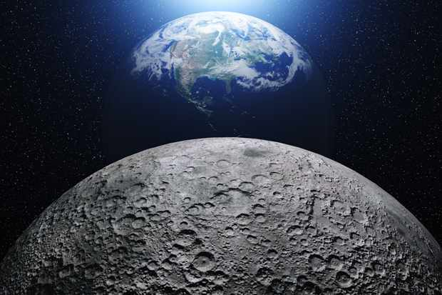What size Moon structure could we see from Earth? © Getty Images