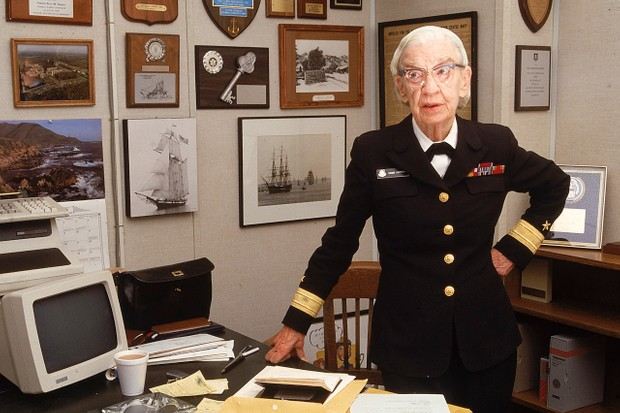 Grace Hopper © Cynthia Johnson/The LIFE Images Collection/Getty Images
