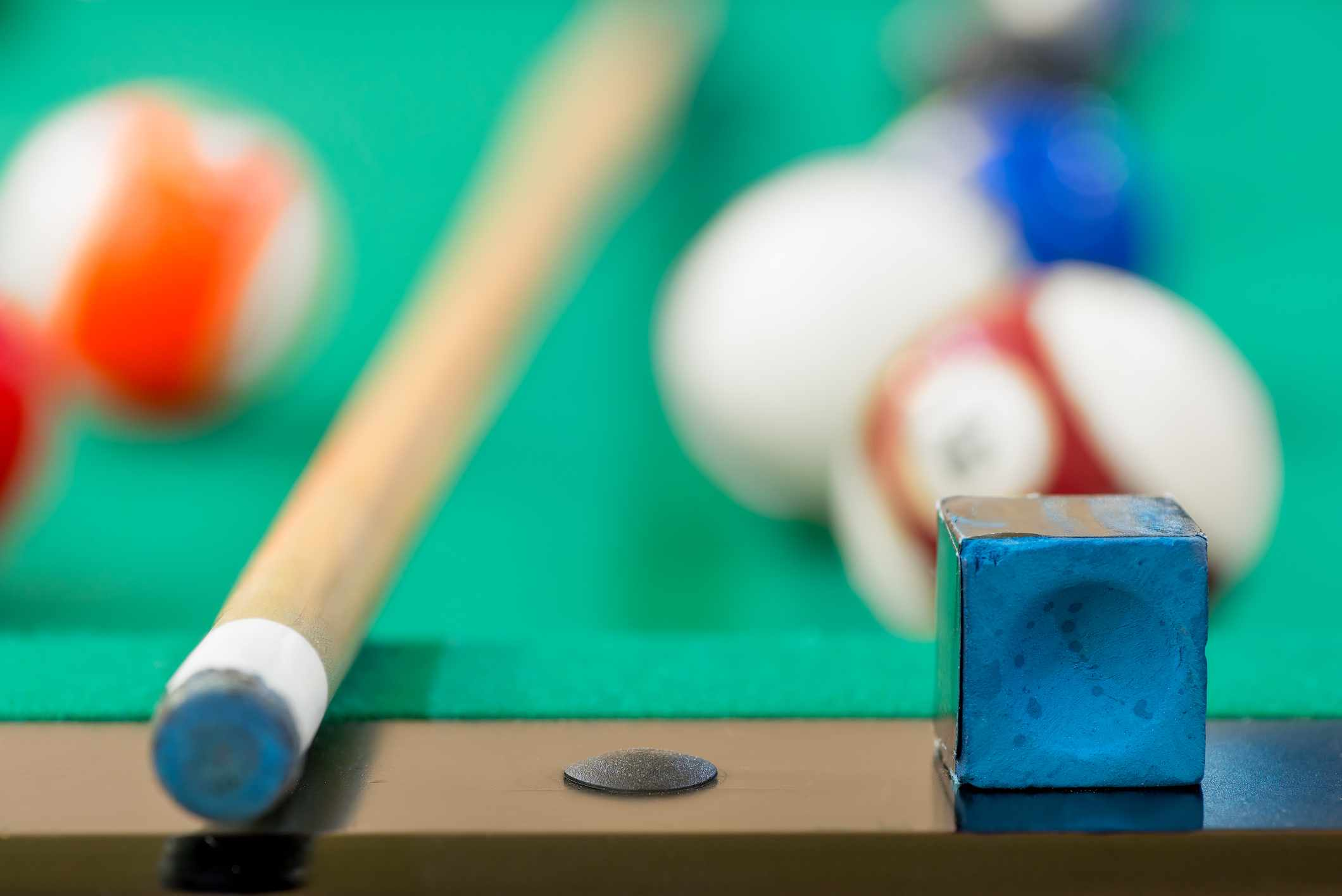 Why is it only ever chalk that's used on snooker cues? © Getty Images