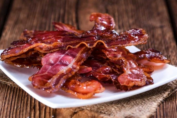 What's the green sheen on bacon? © Getty Images