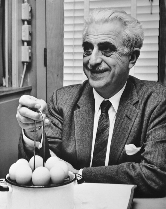 Gregory Pincus, who co-invented the female contraceptive pill, first tested the same hormonal approach on men in 1957 © Bettmann/Getty Images