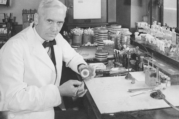 Alexander Fleming © Getty Images