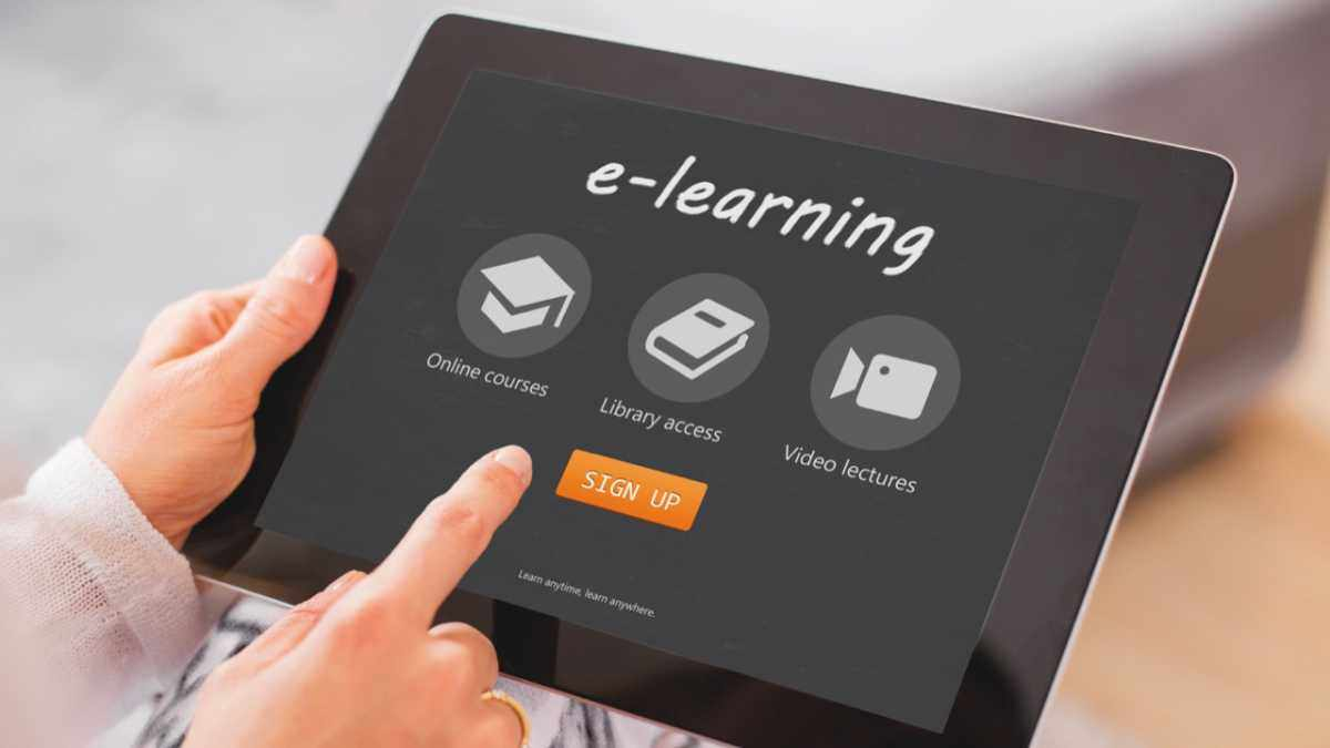 Will e-learning replace teachers? © Getty Images