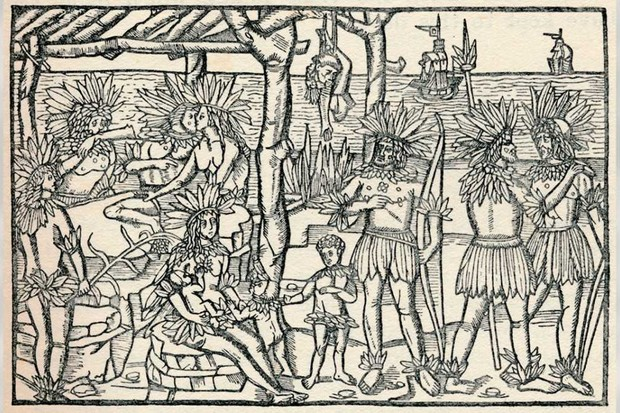 The First Representation of the People of the New World, 1505, by Johann Froschauer © The Print Collector/Print Collector/Getty Images