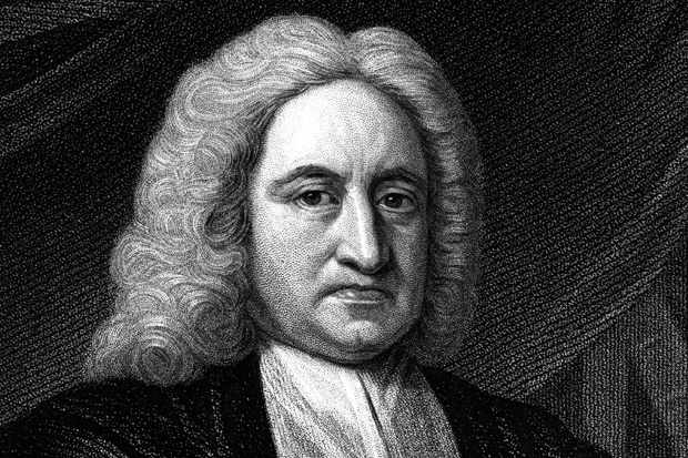 Edmond Halley, (1656-1742) and English astronomer and mathematician, after whom a comet is named. Photo by Michael Nicholson © Getty