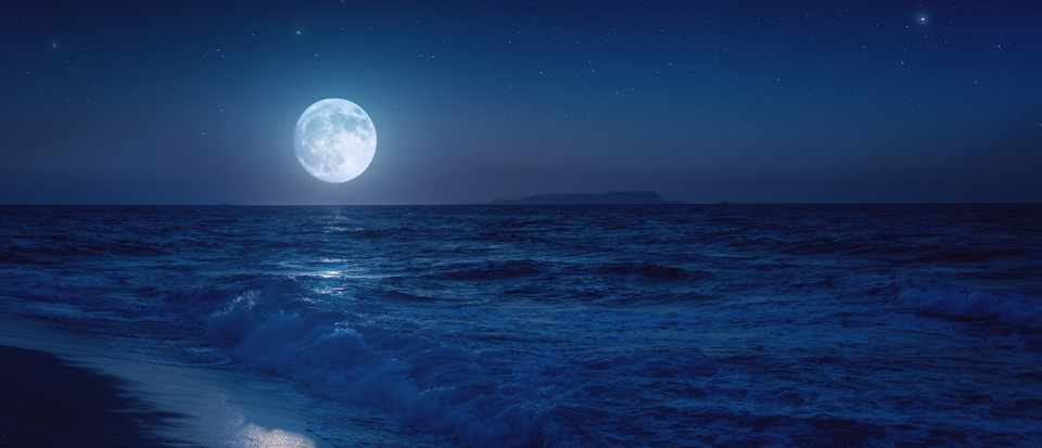 What size does a body of water have to be to be influenced by the Moon's gravity? © Getty Images