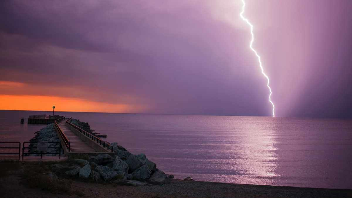 How close do you have to be to a lightning strike in the sea for it to shock you? © Getty Images