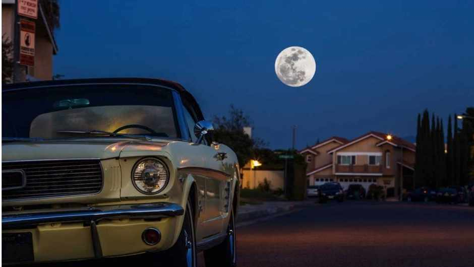 If you could drive a car upwards at 60mph, how long would it take to get to the Moon? © Getty Images