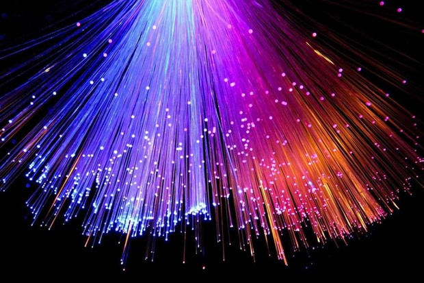 How does light travel down a fibre optic cable? © Getty Images