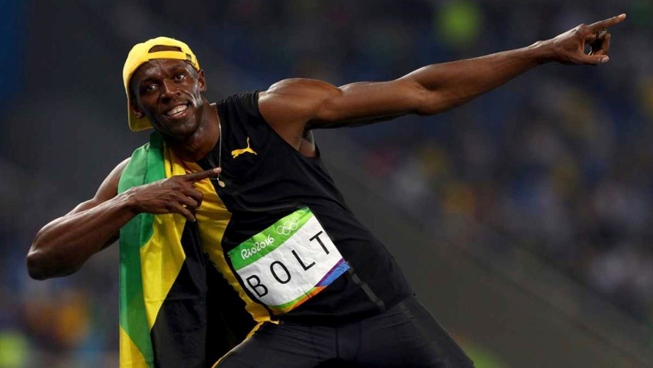 Usain Bolt of Jamaica celebrates winning the Men's 100m Final the Rio 2016 Olympic Games - but then with a name like Bolt you'd expect him to be quick © Ian Walton/Getty Images