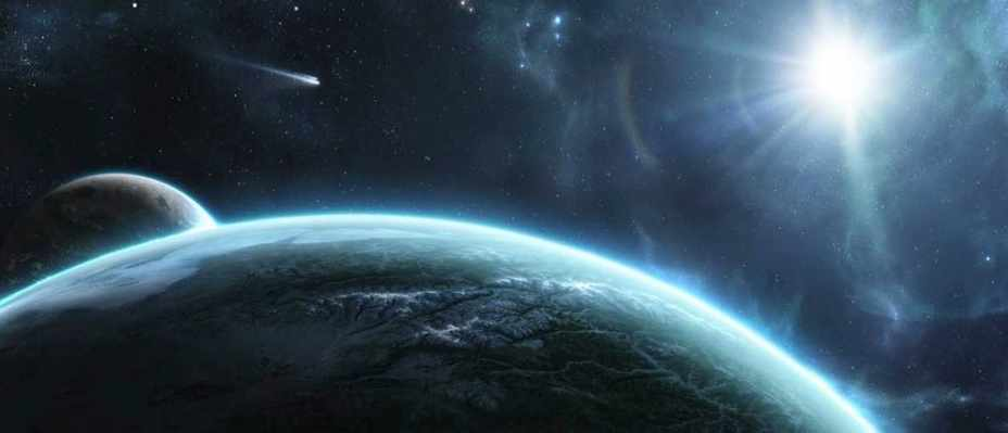 could there be planets out in space that are irregular shapes