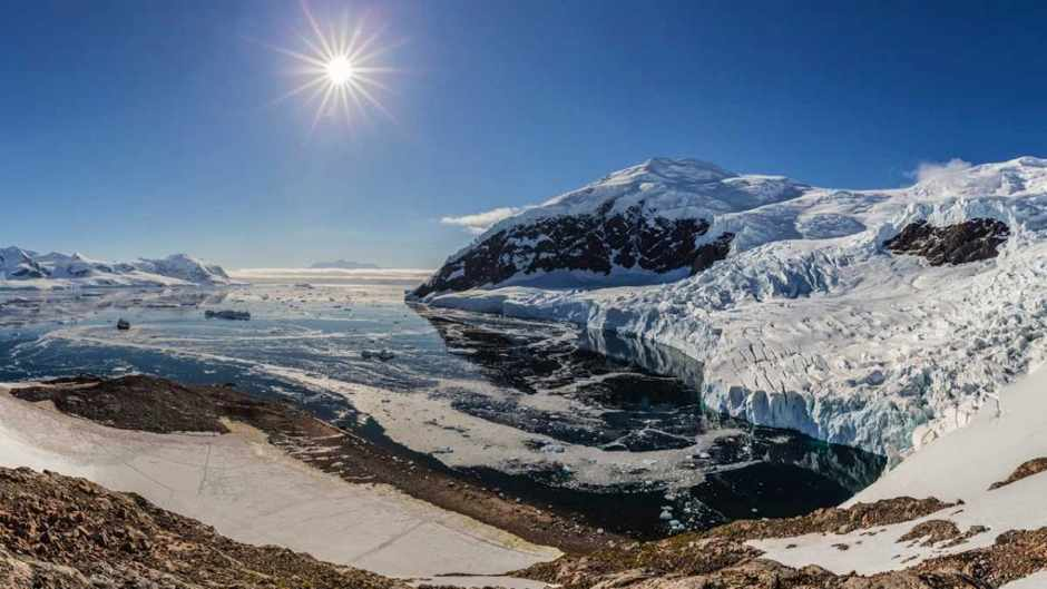 Is Antarctica moving away from the South Pole? © Getty Images