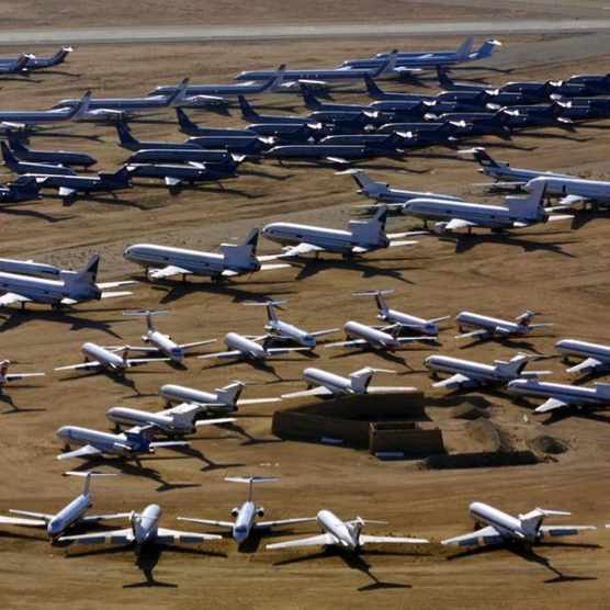 What happens to old aeroplanes? © Getty Images
