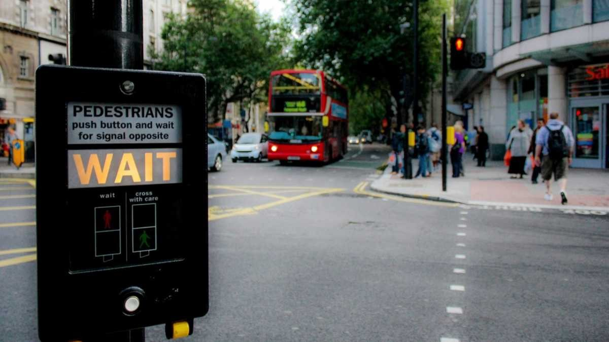 Does pressing the button on pedestrian crossings actually make the lights change faster? © Getty Images