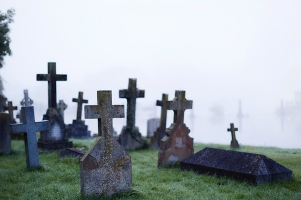 When did we start burying our dead? © Getty Images