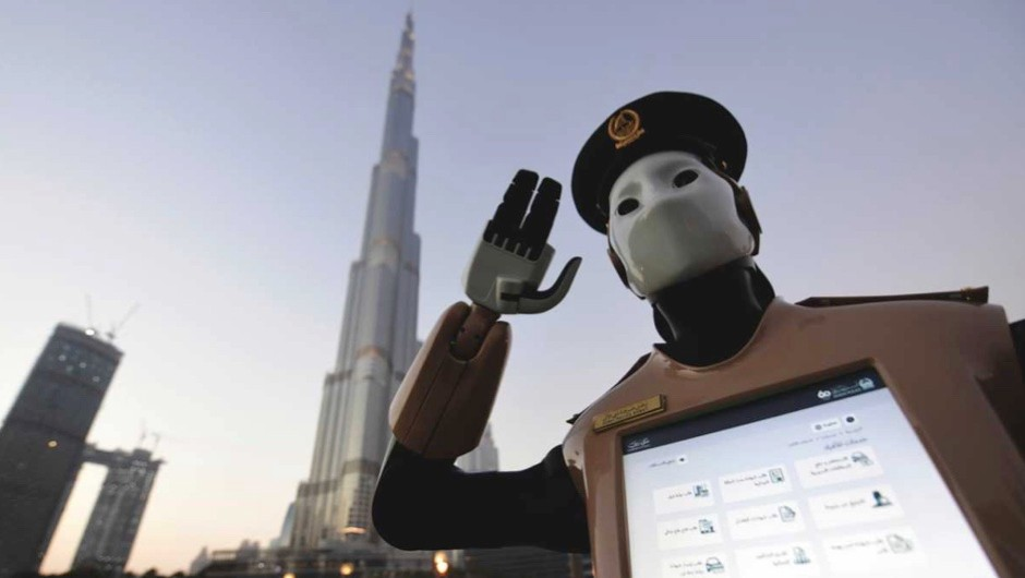 The robocops are here © Getty Images