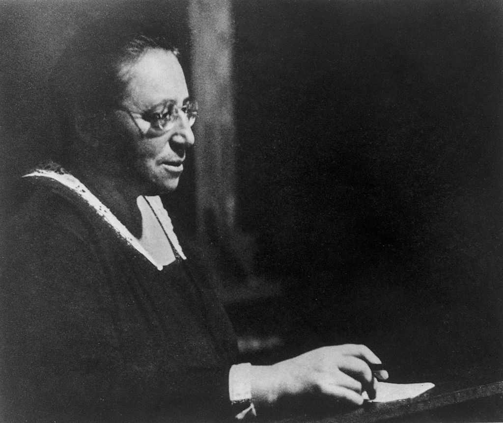 Amalie 'Emmy' Noether, circa 1930 © Pictorial Parade/Hulton Archive/Getty Images